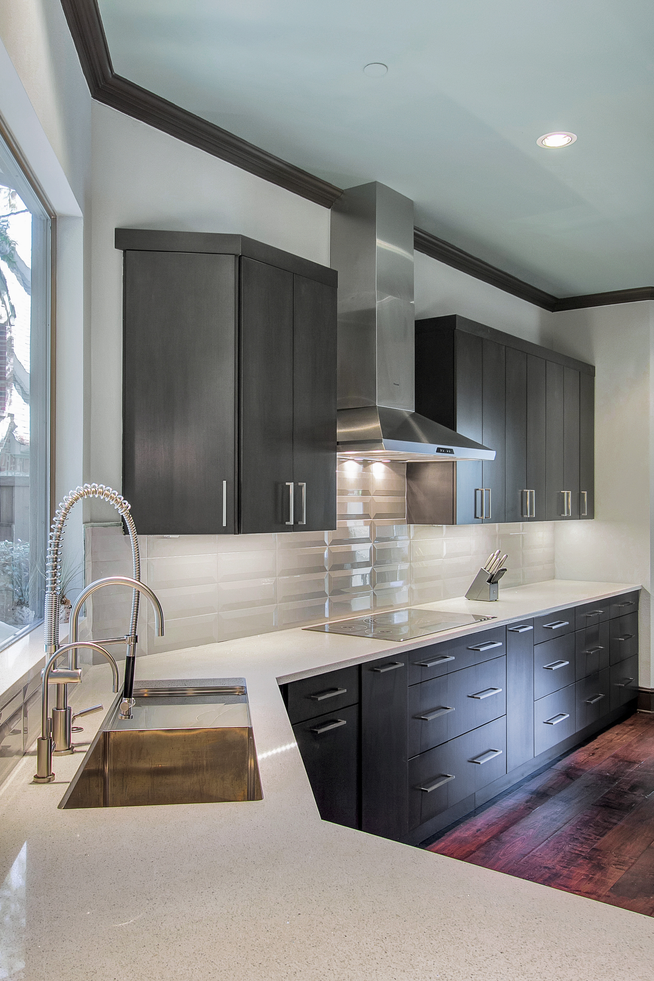 Modern Kitchen Cabinets Online Stainless Venthood