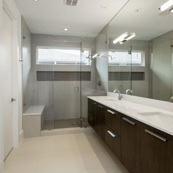floating master bath cabinets