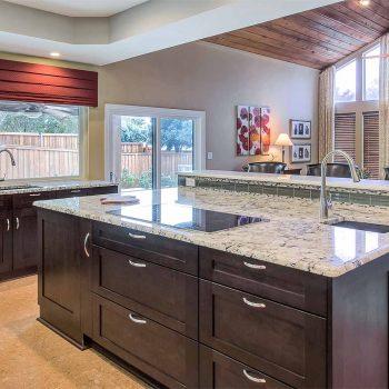 dark espresso kitchen cabinets shaker style