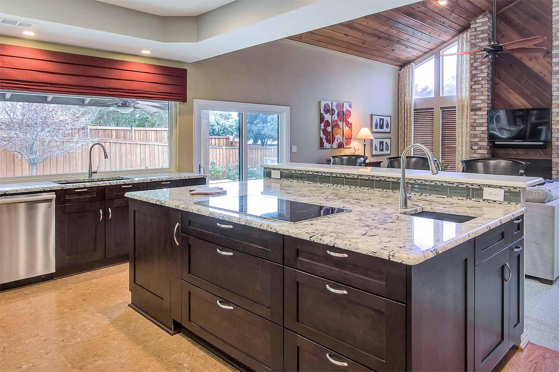 dark espresso kitchen cabinets shaker style & Online Kitchen Cabinet Gallery - Cabinet Collection