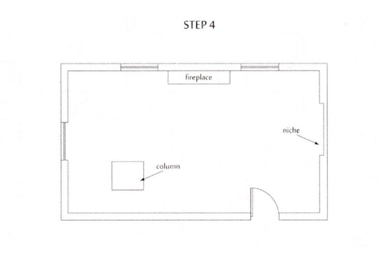 how to measure kitchen step4