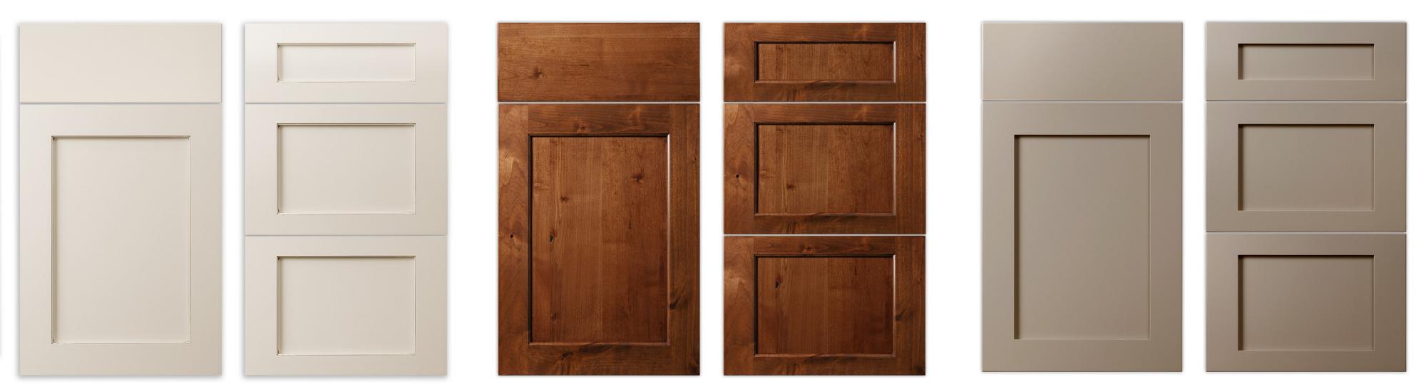 Flat Panel cabinet door