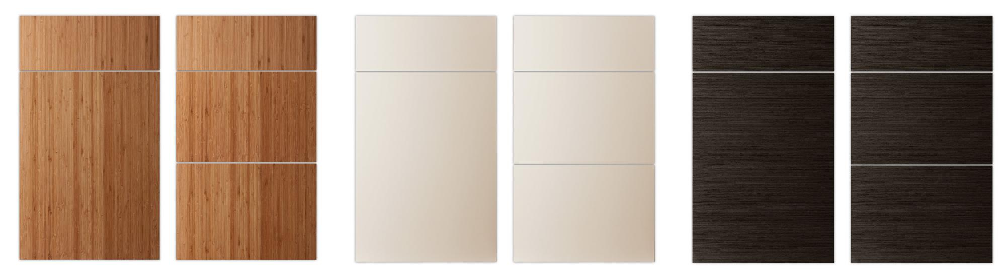 Slab cabinetdoor styles