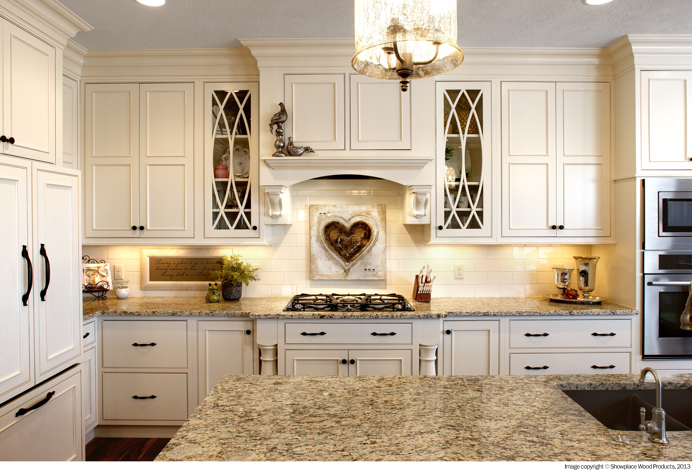 Kitchen Design Secrets Glass Front Cabinets