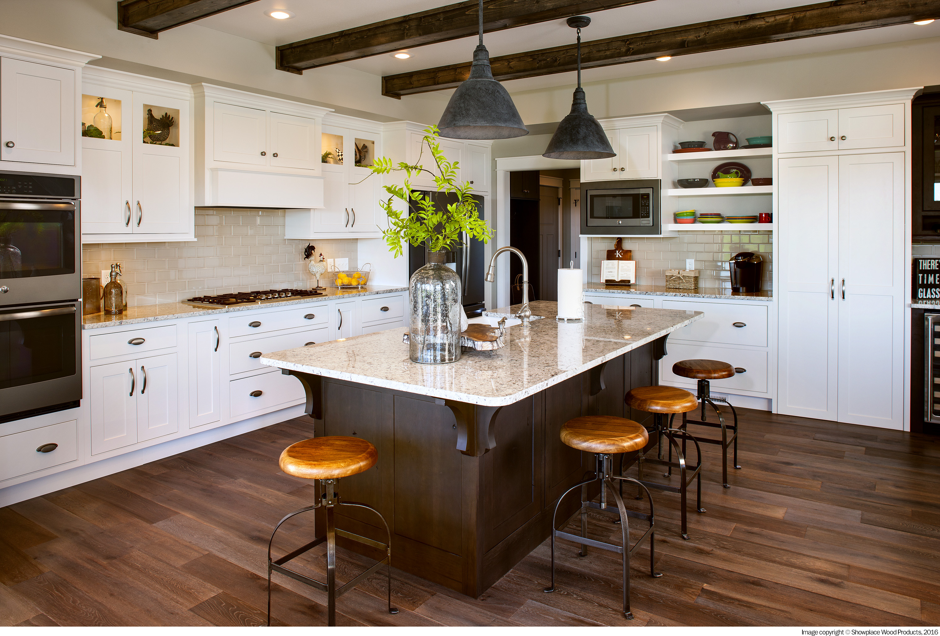 Two Toning Your Kitchen Cabinets Cabinet Collection